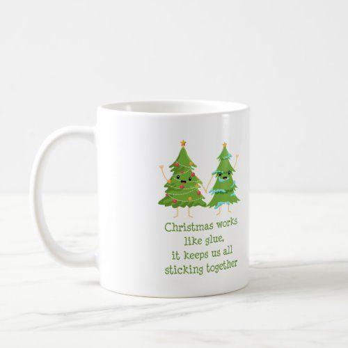Christmas Tree Friendship Christmas Gift Coffee Mug   recycled christmas decorations, christmas handmade decorations, easy christmas decor ideas #christmascards #ChristmasDay #christmasdecoration