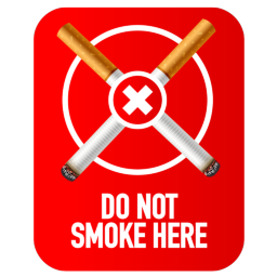 Do Not Smoke Here Symbol Icon 256x256 Png