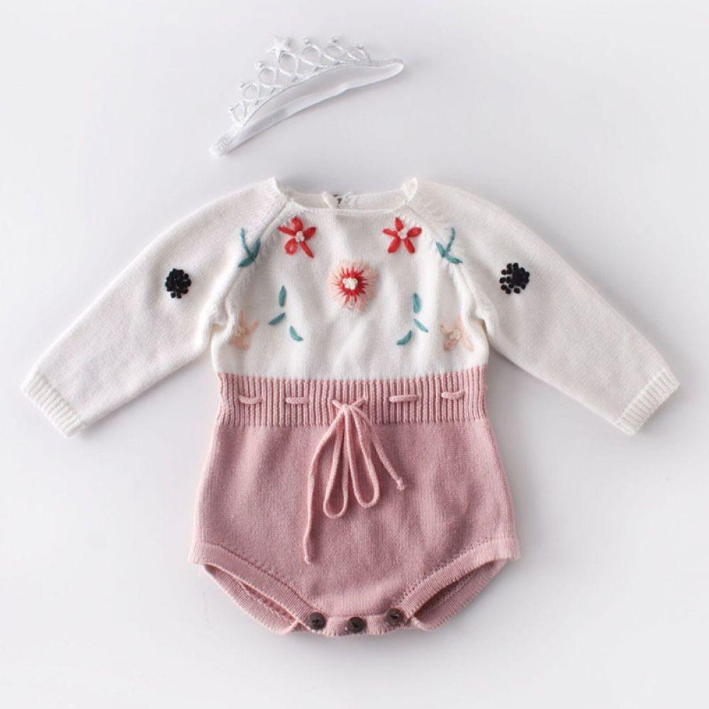 Newborn Infant Baby Girl Cotton Romper Jumpsuit Bodysuit Princess Clothes Outfit