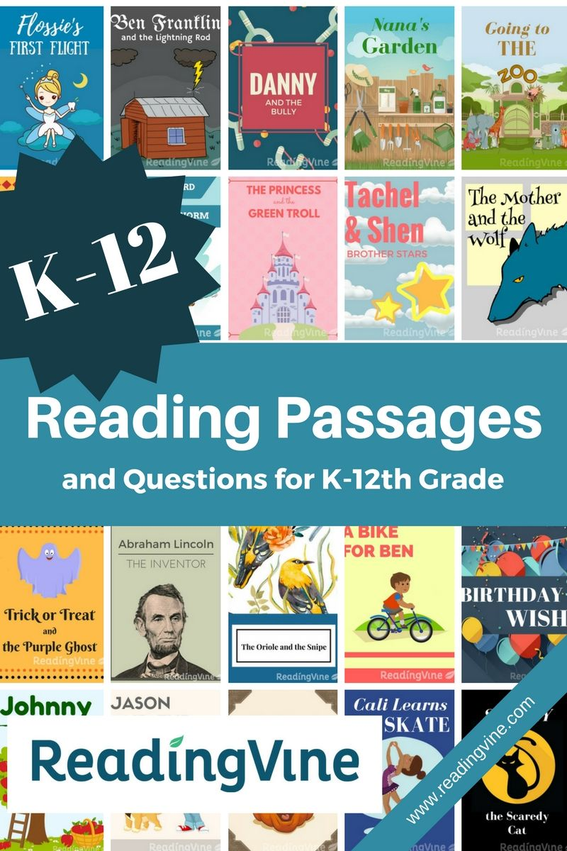 Readingvine Com Offers Free Printable Reading Passages And Questions To Help Students Develop Reading Skil Free Reading Passages Reading Passages Star Reading [ 1200 x 800 Pixel ]