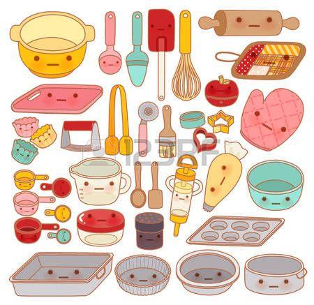 Resultado de imagen para utensilios de reposteria dibujos for Utensilios de hogar