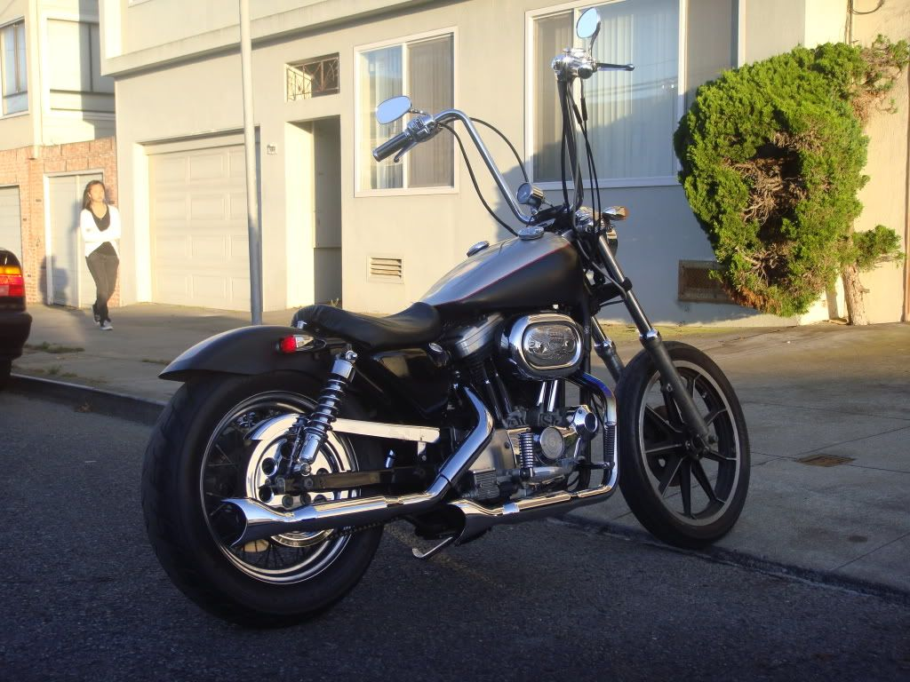 1992 Harley Davidson Sportster Custom Image