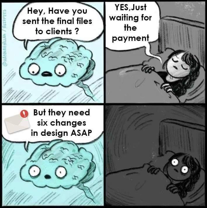 Sleepless nights like this. Lol! #designerslife # ...