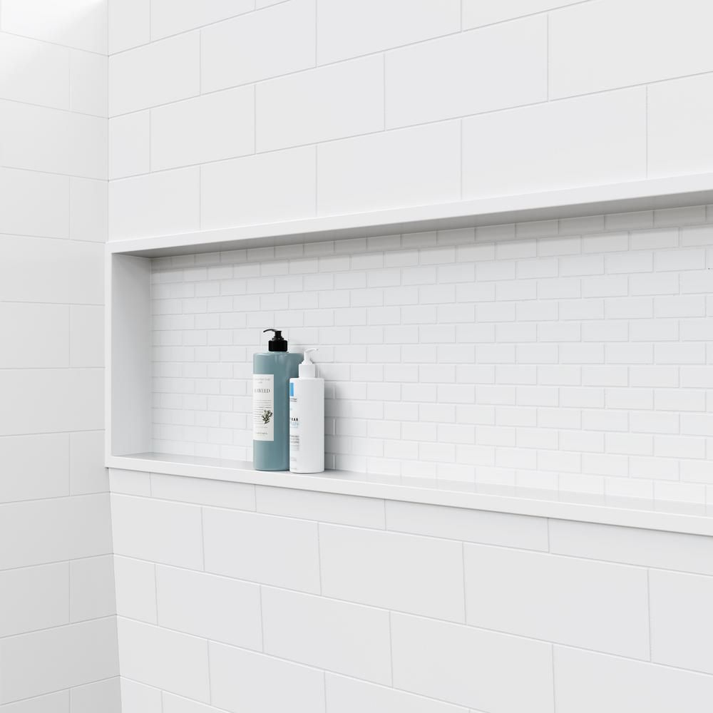 Bootz Industries Nextile 30 In X 60 In X 60 In 4 Piece Direct To Stud Alcove Tub Surround In White Z041 5000 The Home Depot Shower Wall Kits Bathroom Shower Kits Shower Kits