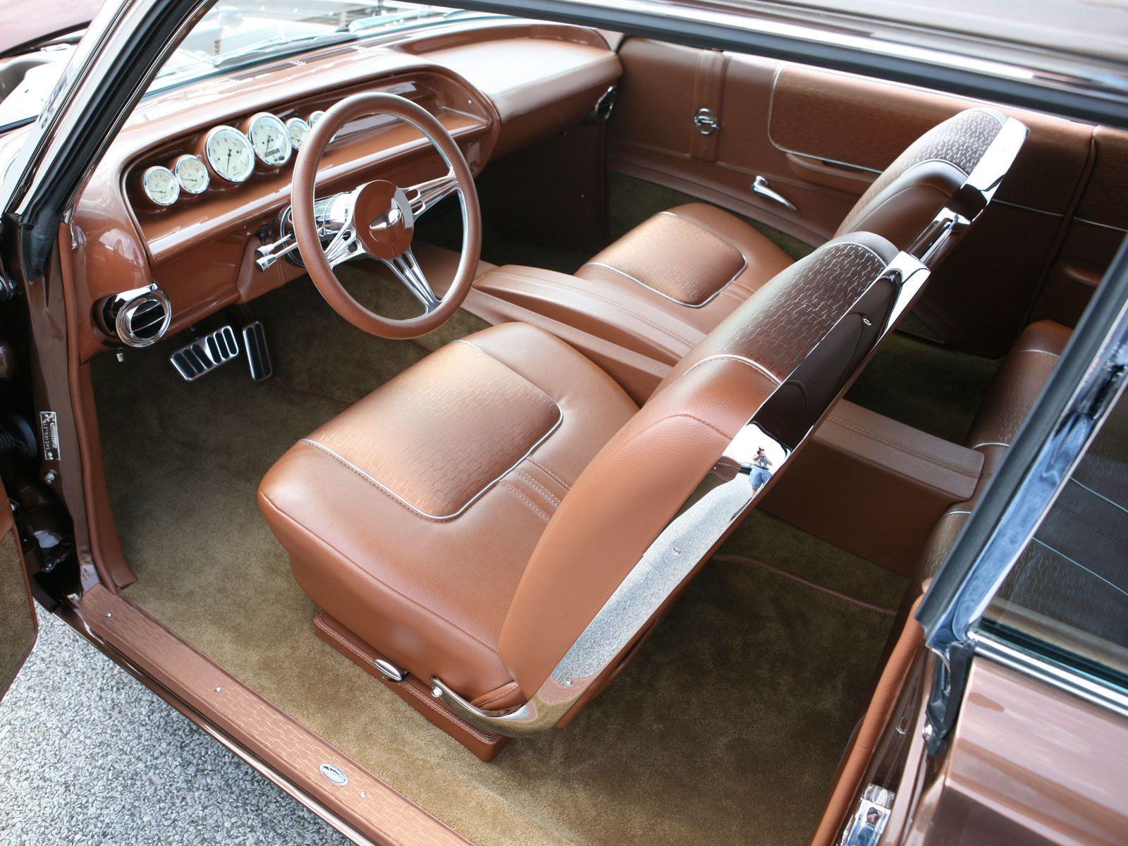 Custom car interior queens ny - 1963 Chevy Impala Custom Chevy Impalacar Interiors1967