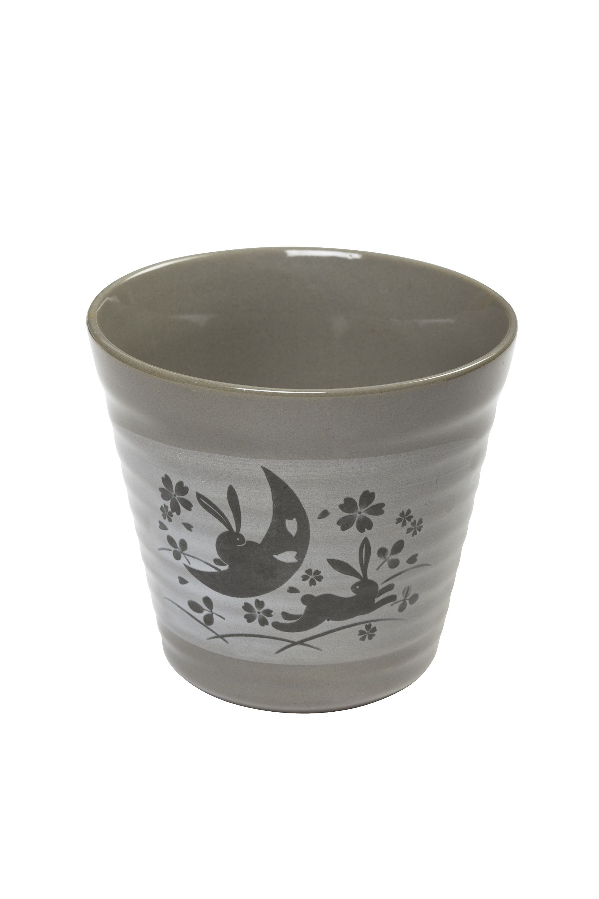 Japanese Stoneware Cup Sakura Usagi Japan Pinterest