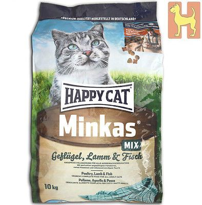 10 Kg Happy Cat Minkas Mix Complete Katzenfutter Mit Geflugel Lammsparen25 Com Sparen25 De Sparen25 Info Katzen Futter Geflugel Katzenfutter
