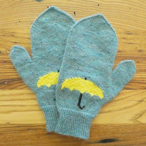 Photo of Project: April Showers Mittens