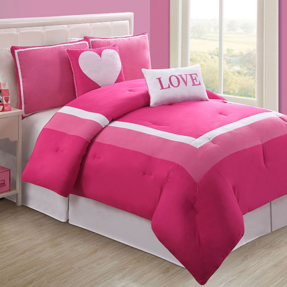 Fancy Linen Teens//Girls 3pc Twin Sheet Set Paris Eiffel Tower Hearts Pink Grey New # Paris