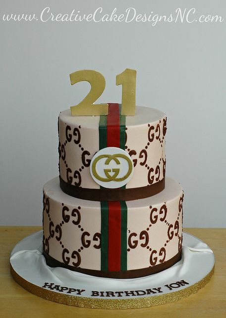 Gucci Cake Gucci Party Cake Gucci Cake 12th Birthday