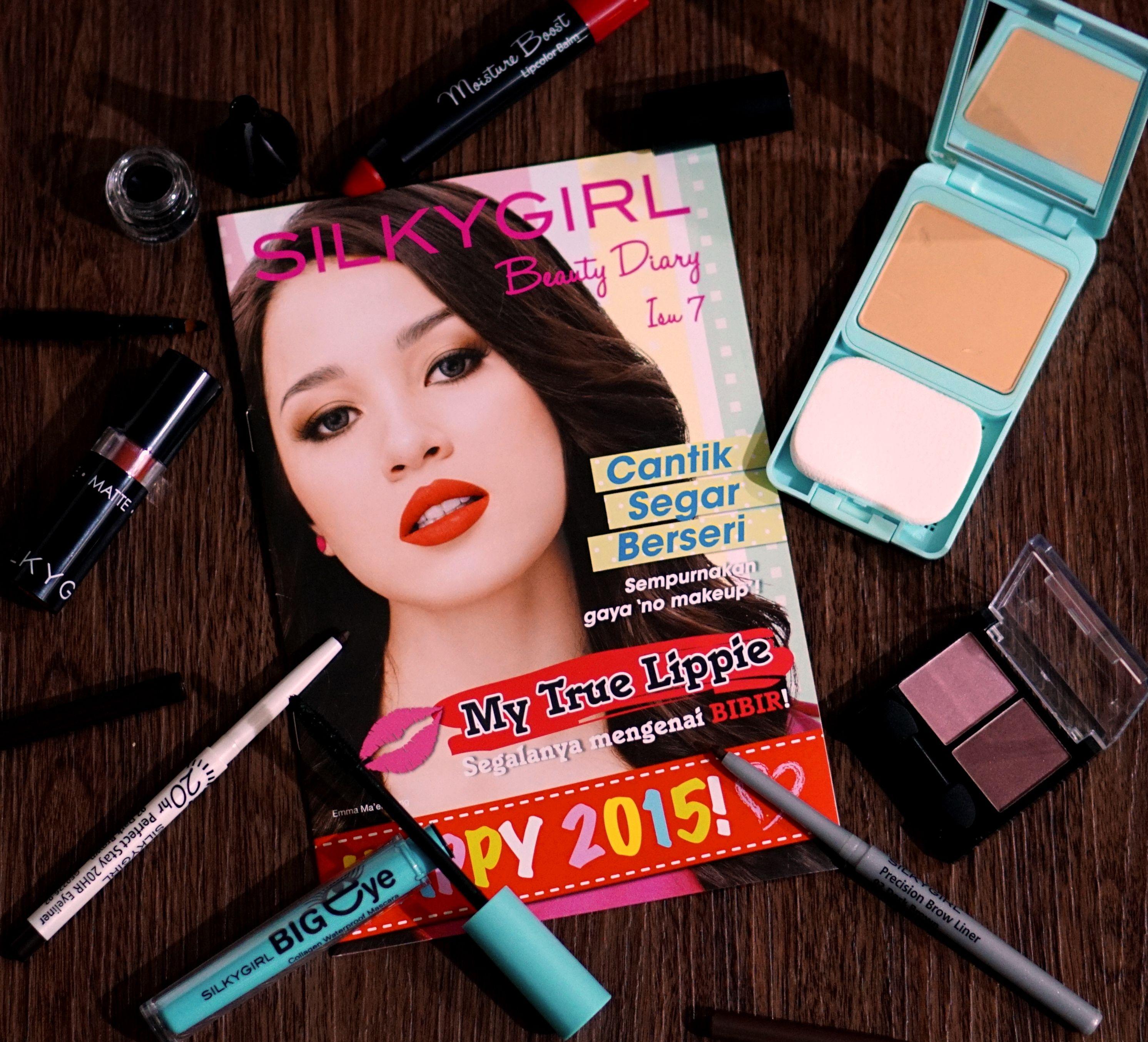 Basic makeup essentials SILKYGIRL cosmetics. Basic