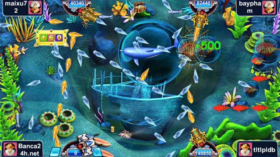 Game Icá bắn cá online 4 người chơi đặc sắc