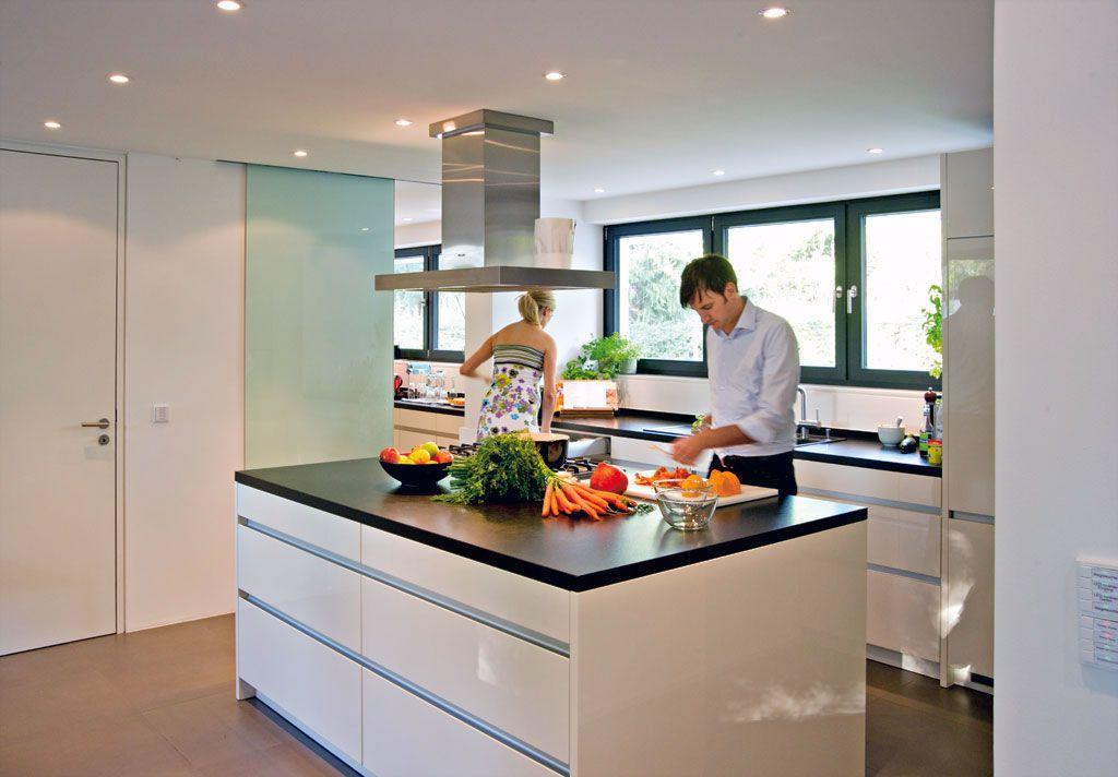 Küche mit kochinsel modern  Pin von Danila auf Küchen | Pinterest | Küche, Kochinsel und ...