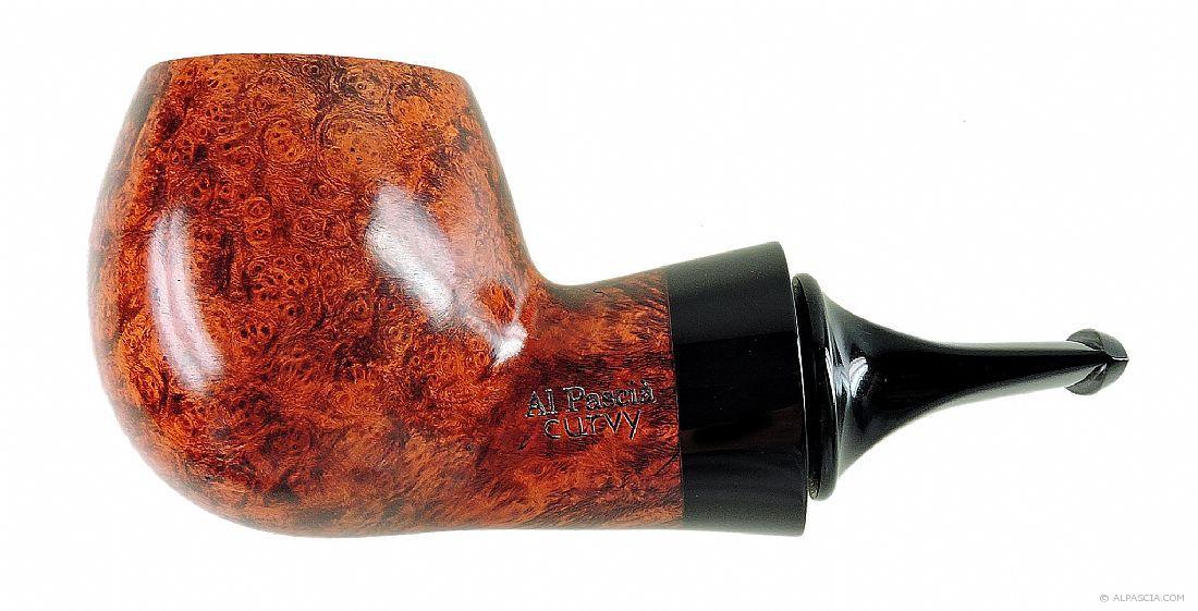 Al Pascia Curvy Walnut 02 - pipe 971 - Al Pascia 971 - Alpascia