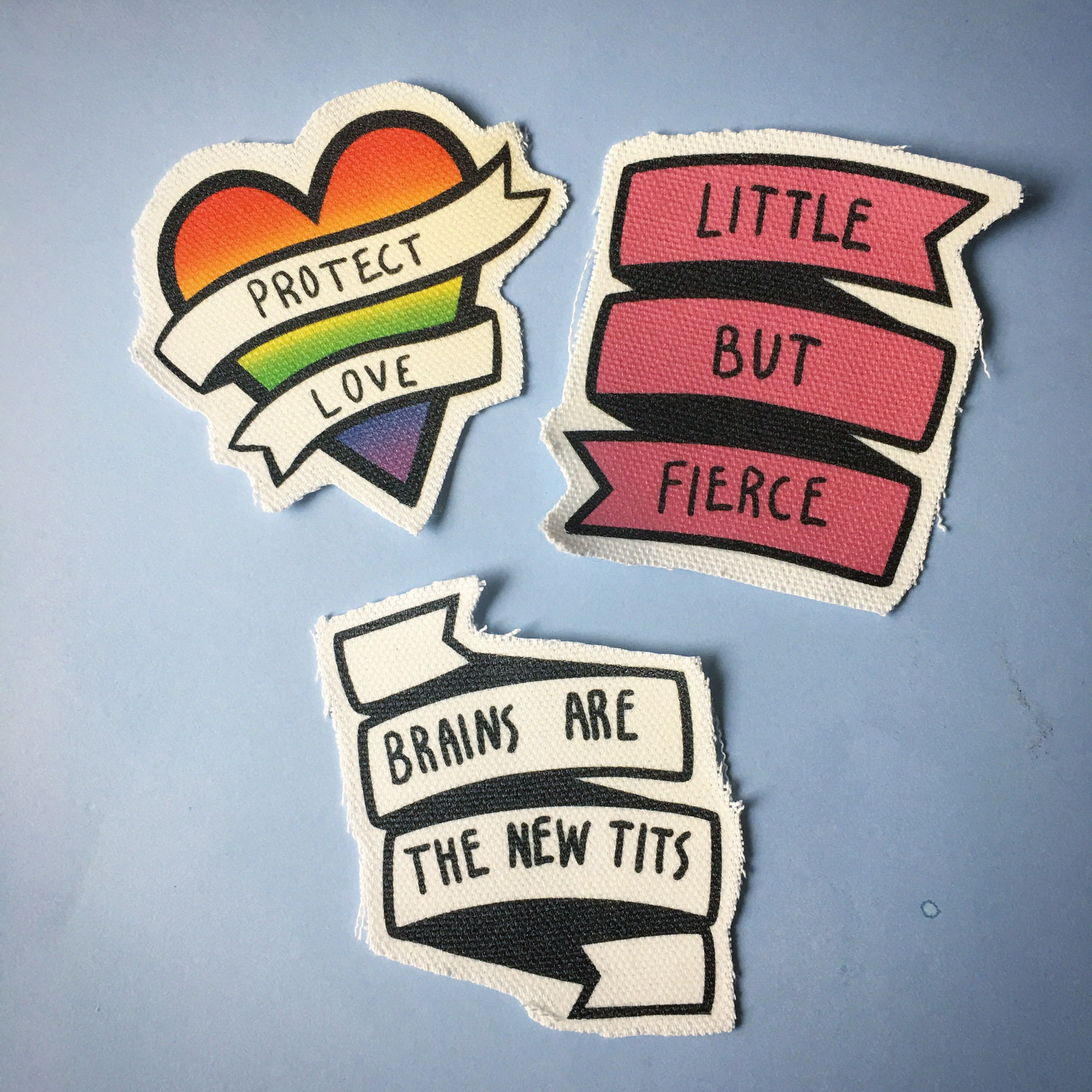 Lgbt Quotes Cute Feminist And Lgbt Quote Patches For Your Jacket Handmade.