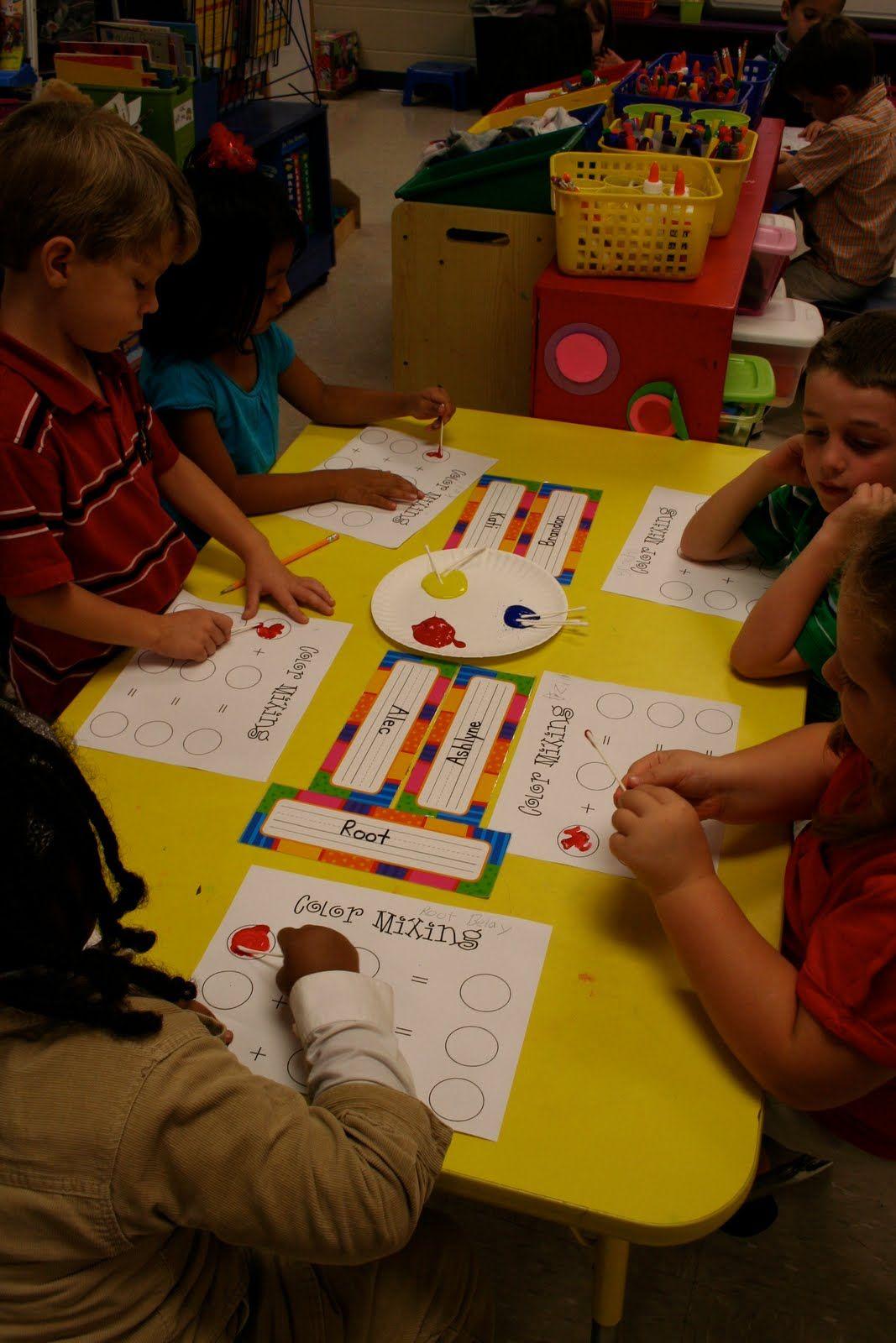 Mrs Lee S Kindergarten Colors