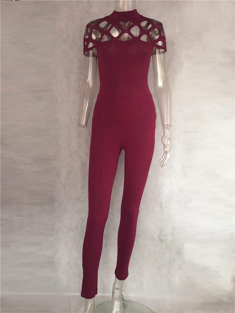 2f5792ae0614 Buy online Women s Sexy Cross Design Jumpsuit - FREE SHIPPING worldwide
