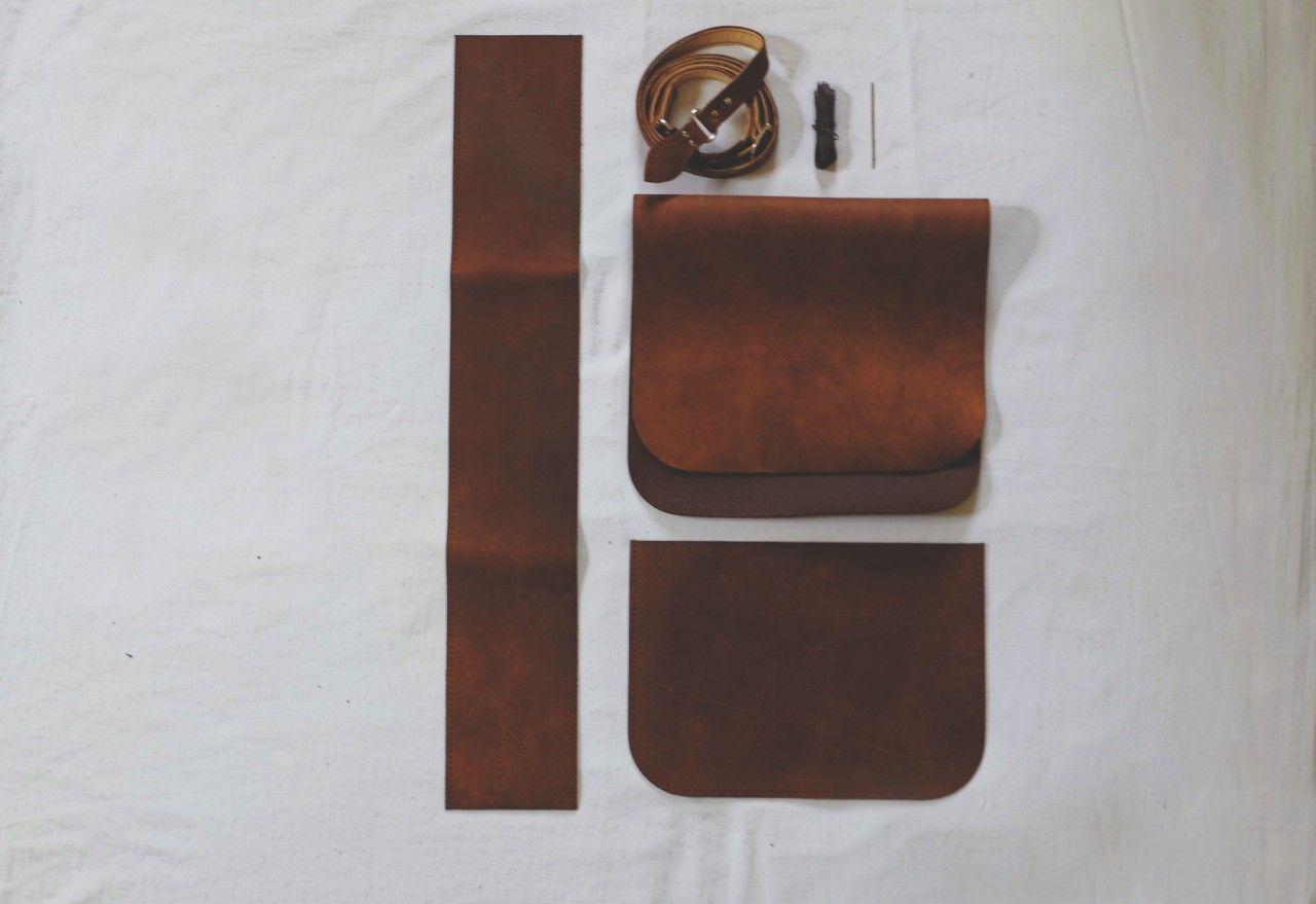 Sew It Yourself Leather Satchel Bag Kit Leather Satchel Bag