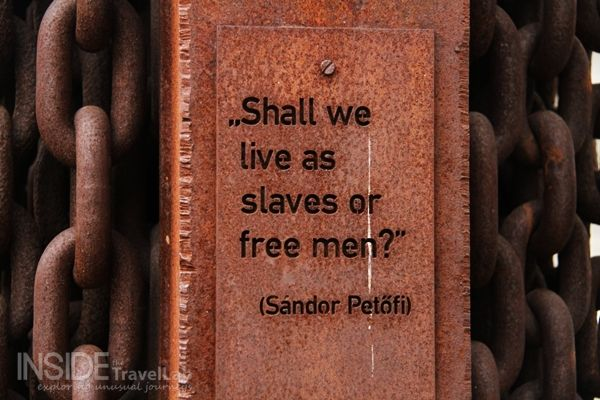 """Shall we live as slaves or free men?"""