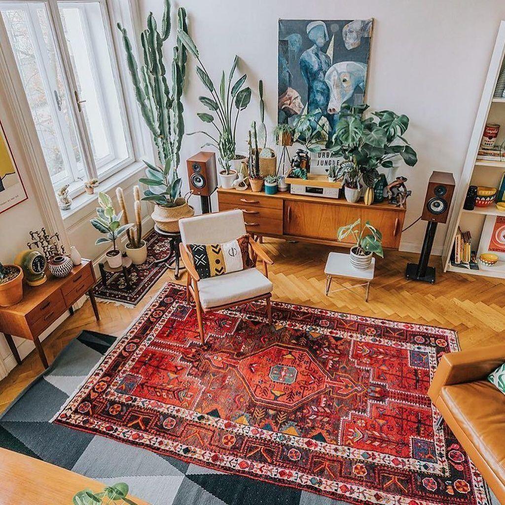 36 Unique Bohemian Living Room Decor Ideas images