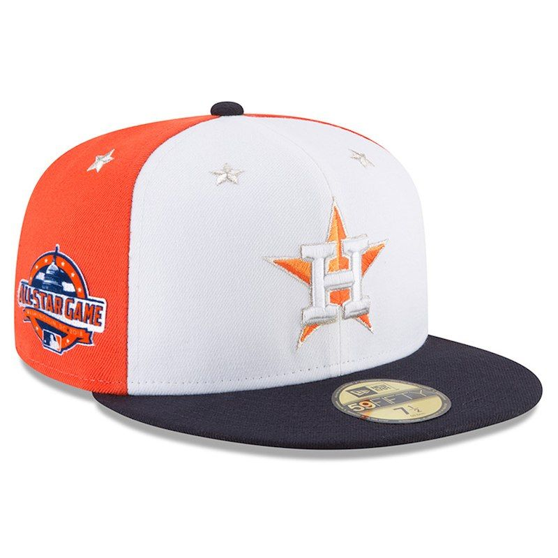 sneakers for cheap fast delivery good texture Houston Astros New Era 2018 MLB All-Star Game On-Field 59FIFTY ...