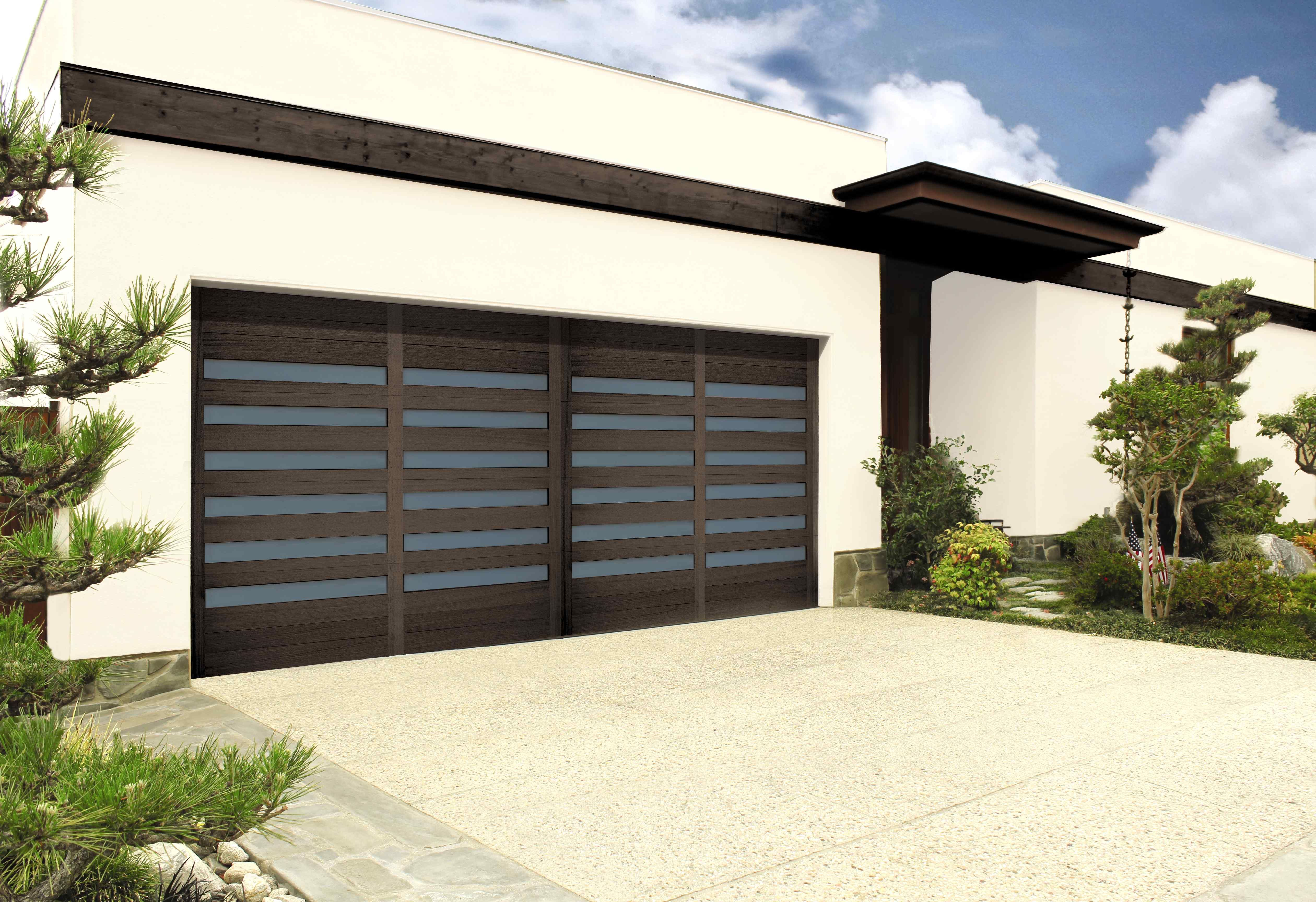 Modern design garage door modern contemporary architecture real wood garage doors from wayne dalton will be sure to add beauty to any home type with many styles and options to choose from rubansaba
