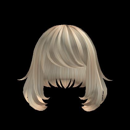 Personaliza Tu Avatar Con El Objeto Short Blonde Fluffy Hair Y Millones De Objetos Mas Mezcla Y Conjunta Este Obje Fluffy Hair Black Hair Roblox Short Blonde