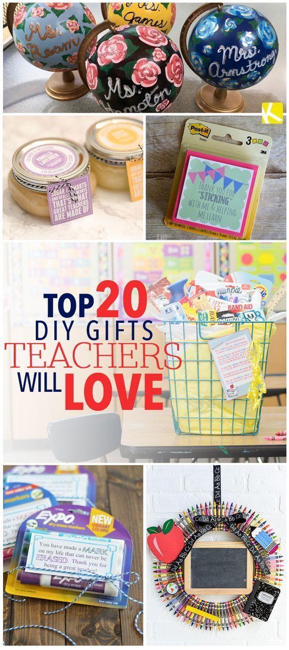 Top 20 DIY Geschenke Lehrer werden lieben | Geschenke Ideen ...