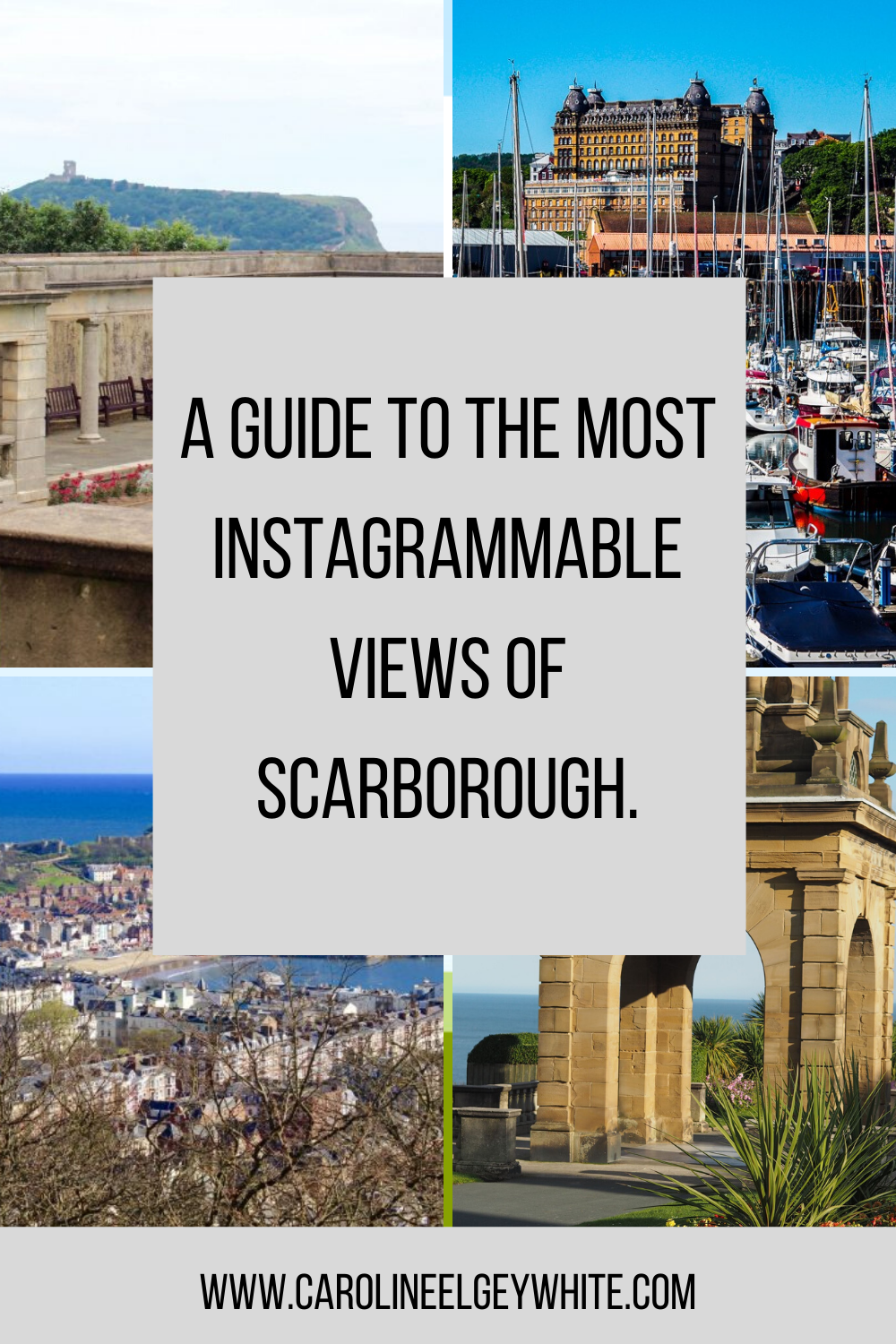 A guide to the most Instagrammable views of Scarborough.