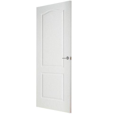 Premdor 2 Panel Arch Top Textured Internal Door Doorsworld