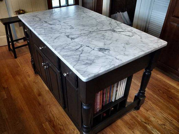 20 Of The Most Gorgeous Marble Kitchen Island Ideas Marble Top Kitchen Island Kitchen Island Posts Marble Kitchen Island
