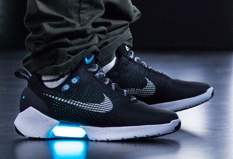 Nike HyperAdapt an innovative sneaker featuring