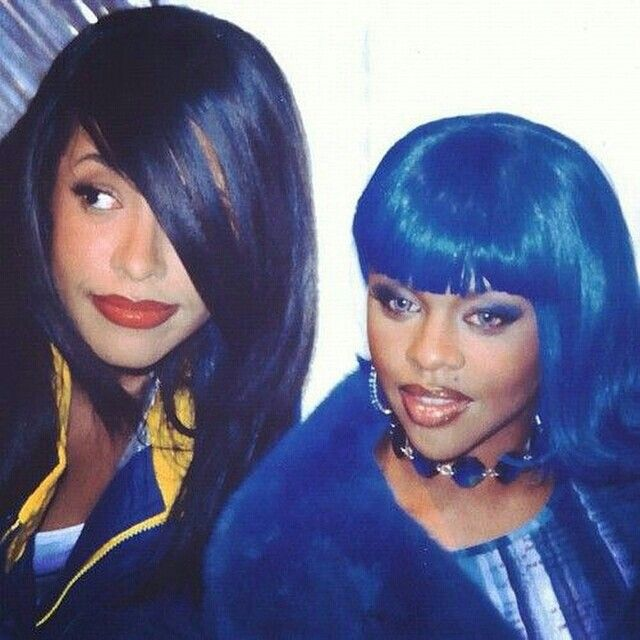 Aaliyah Lil Kim Crush On You Lil Kim Aaliyah Aaliyah Style