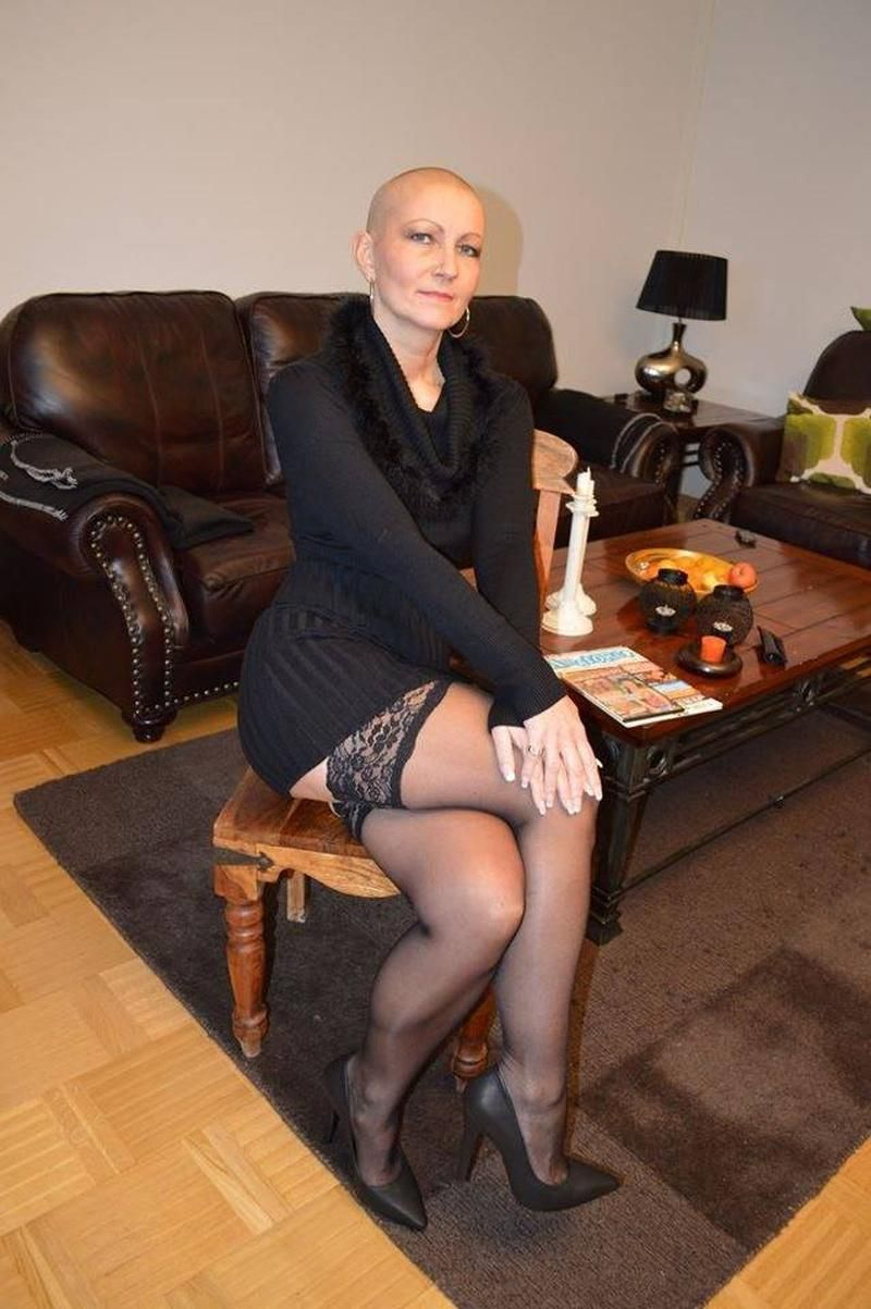 Sexy Legs Beautiful Love Mature Lady  Nylon Legs-9652