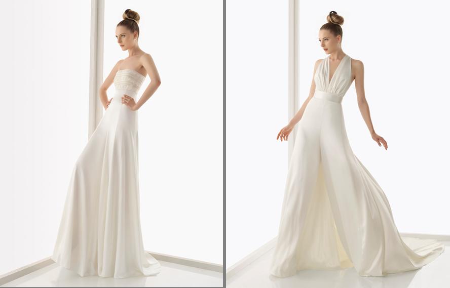 vestido novia falda pantalon | escogiendo mi vestido | pinterest
