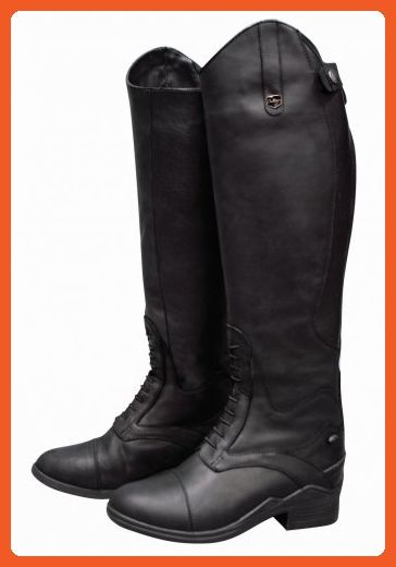 separation shoes fa232 5b8d2 DUBLIN NORMANDY WATERPROOF FIELD BOOTS BLACK LADIES 6 WIDE ...