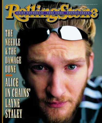 Rolling Stone Magazine # Alice in Chains cover