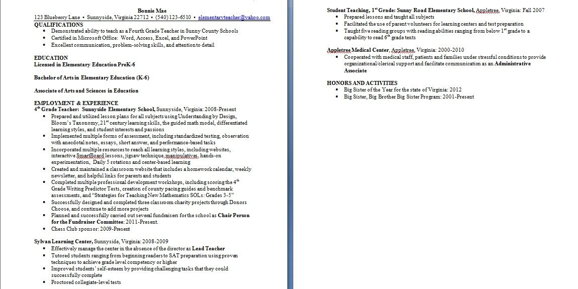 Student Teaching On Resume Beg Borrow And Teach Teacher Resume Freebie  Resume  Teaching .