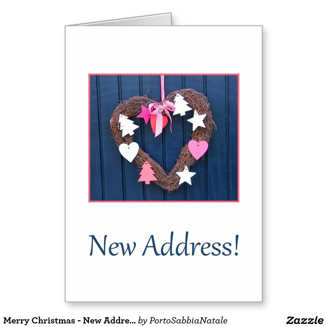 Merry Christmas - New Address Christmas Card | Merry