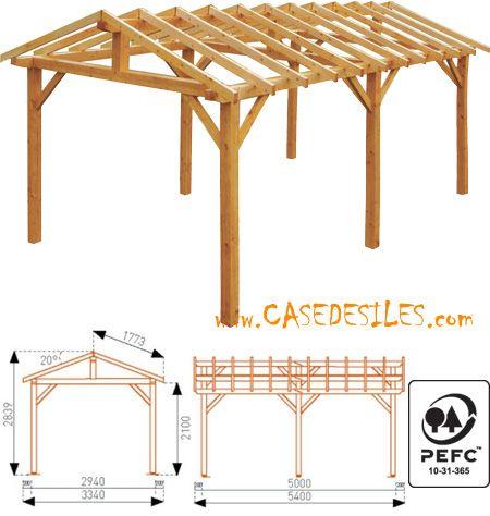 Abri terrasse bois en Vente Flash  Abri de terrasse en bois 1803mc - Terrasse Sur Pilotis Prix