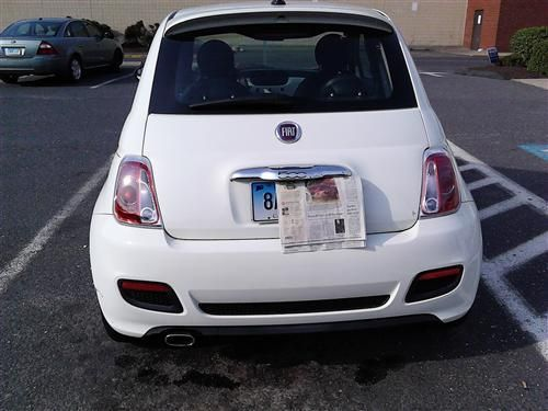 2012 Fiat 500 Sport For Sale $12,700.00 2012 FIAT 500 SPORT 10.786 RUNS  GREAT WHITE LOADED