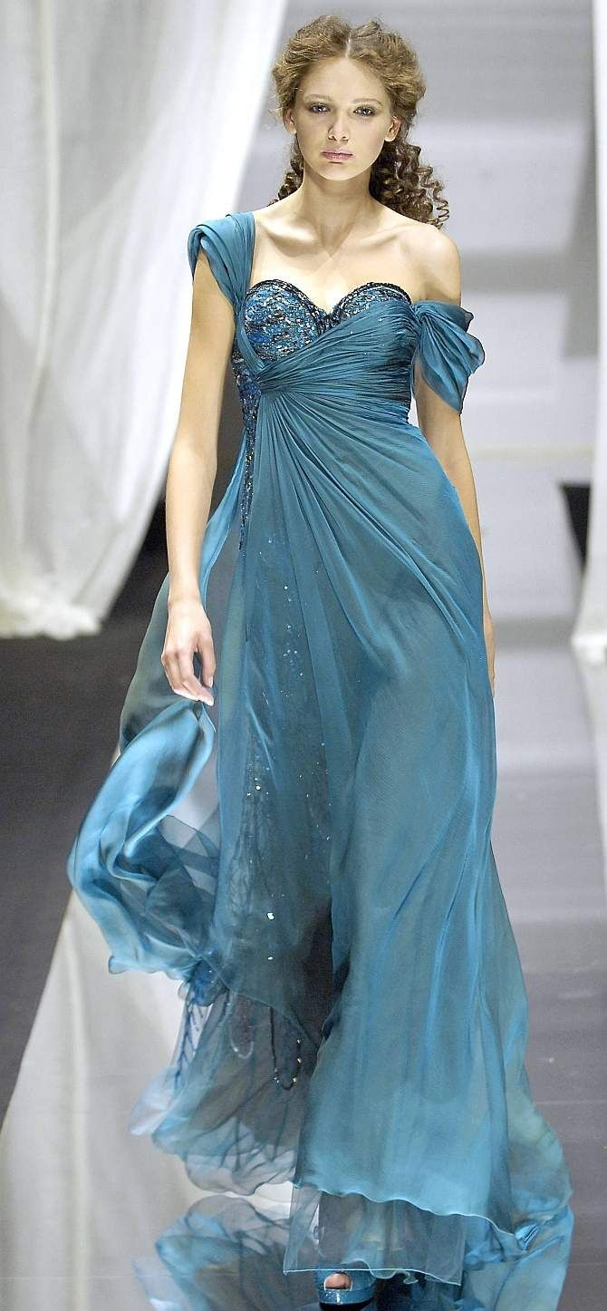 Zuhair murad gown for athirat canaanite ucwalker of the sea