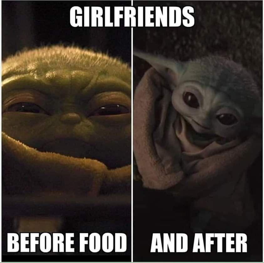 Pin By Brenda Brundage Yates On Baby Yoda Yoda Funny Yoda Meme Star Wars Memes