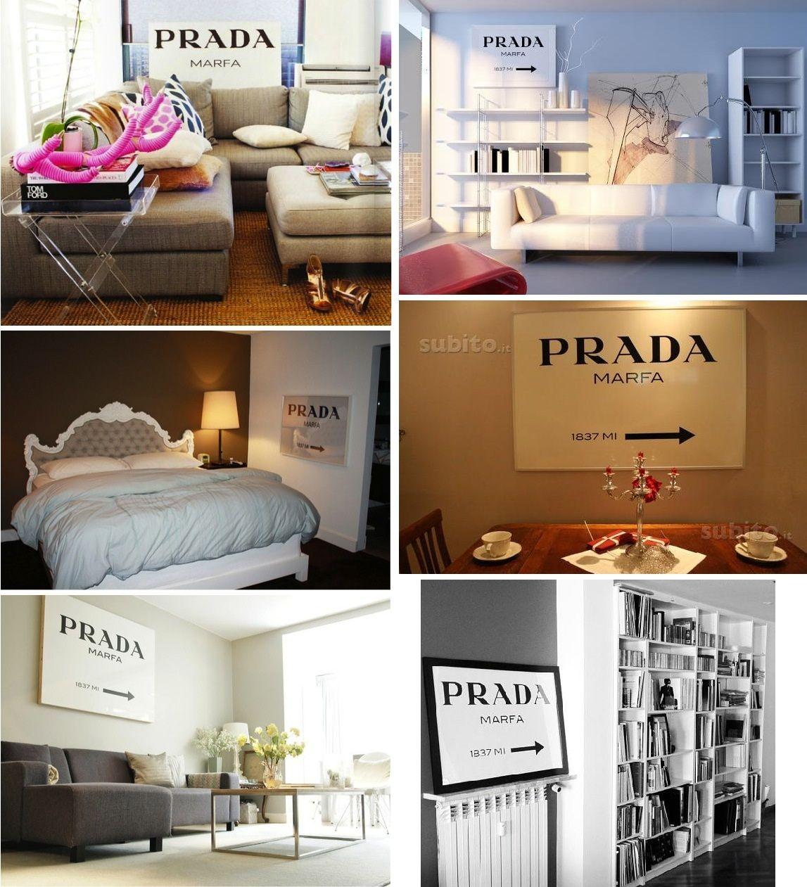 quadros prada marfa sign | THE HOUSE | Pinterest | Prada marfa ...