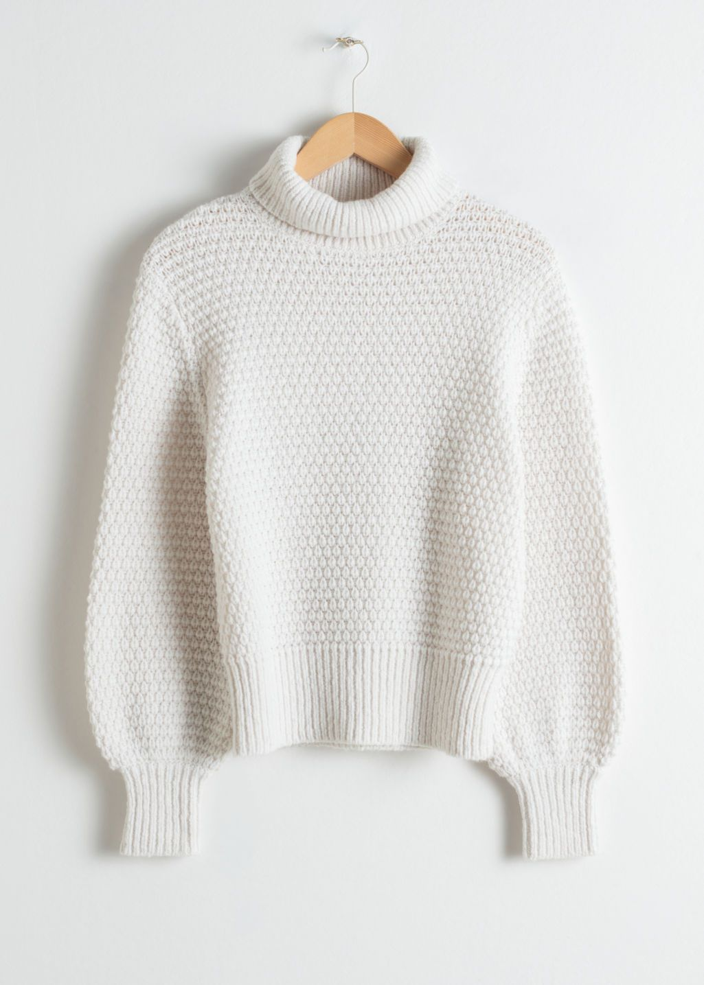 604c439908 Wool Blend Turtleneck Sweater in 2019 | Outfits | Turtle neck ...