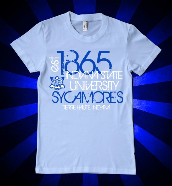 Distressed Indiana State Est. 1865 t-shirt