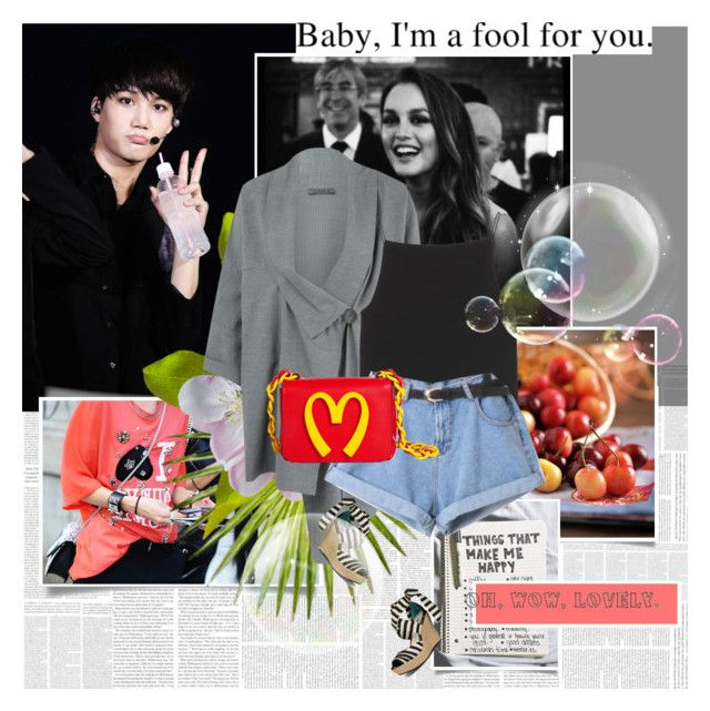 """Baby,I'm a fool for you"" by rainie-minnie ❤ liked on Polyvore featuring Oska, T By Alexander Wang, Moschino and UGG Australia"