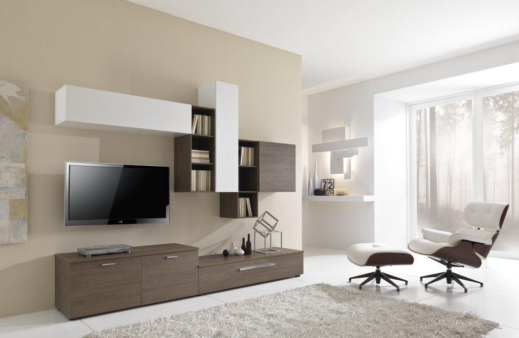 Parete attrezzata moderna ad angolo cool pareti attrezzate atlante a with parete attrezzata - Mobili bassi da soggiorno ...