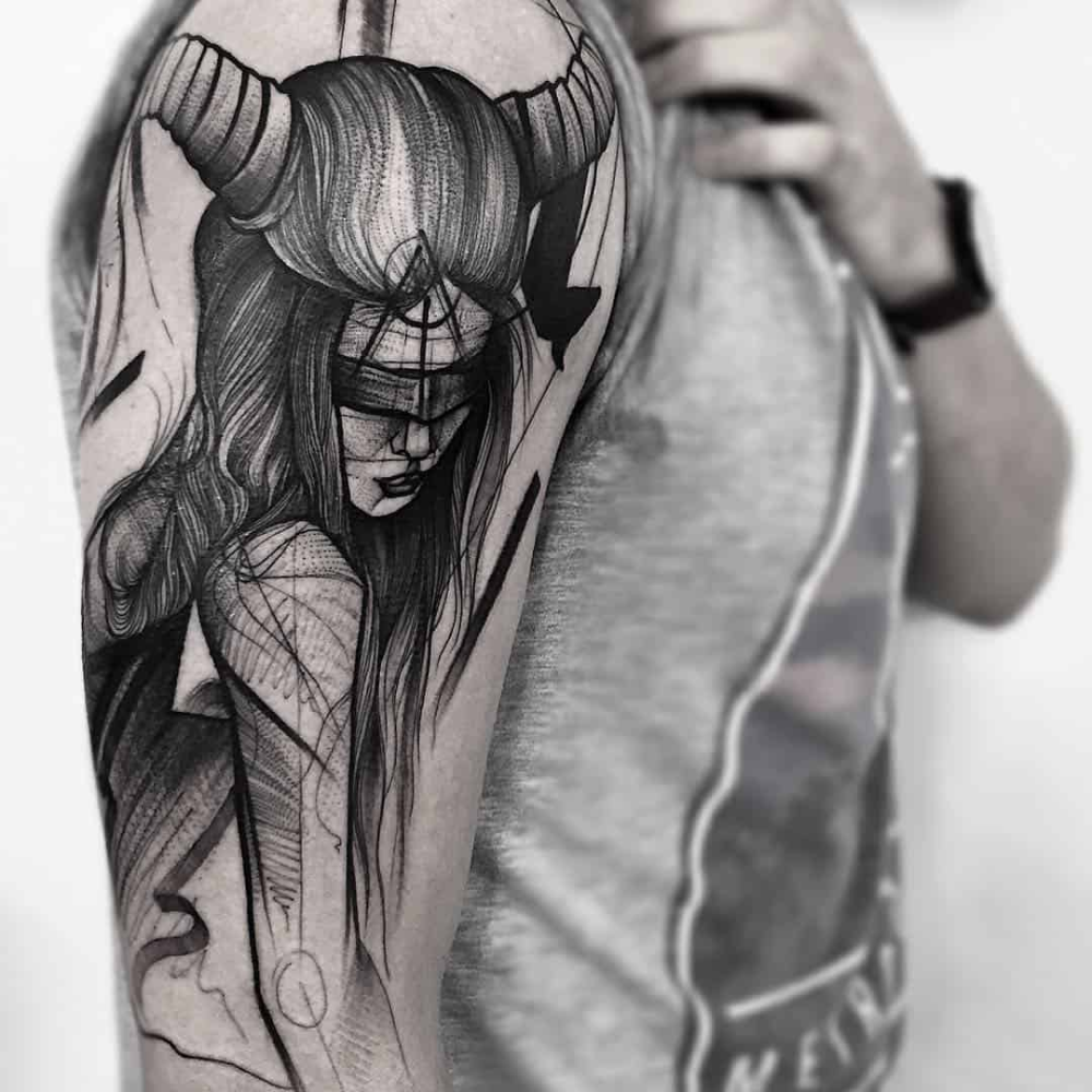 Chronic Ink Vancouver And Toronto Blackwork Tattoo Style Body Art Sketch Style Tattoos Tattoo Style Tattoos