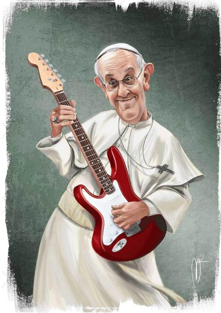 Resultado de imagen para Caricaturas de Papa Francisco